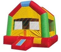Party House Bouncing People
